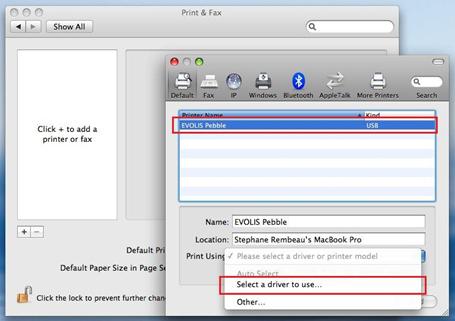 Evolis Printer Driver Windows 7