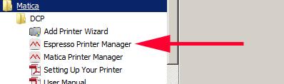 Espresso Print Manager