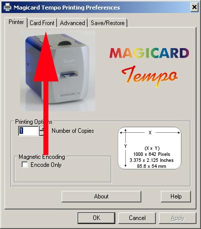 MAGICARD TEMPO PRINTER DRIVERS WINDOWS XP